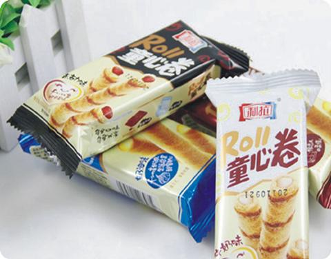 饼干食品包装机械设备应用案例